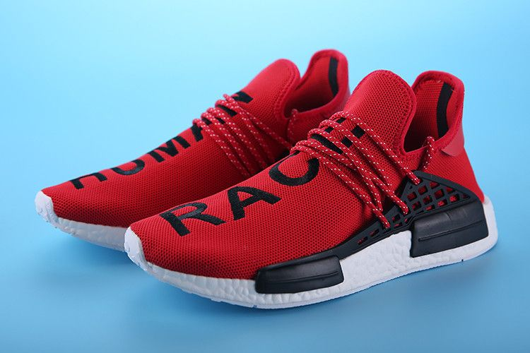 best sneakers 3278c dab44 Adidas NMD Human Race rouge