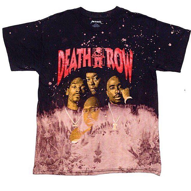 Death Row Bleach Tee www.fadetoblackworldwide.com #FTBWW