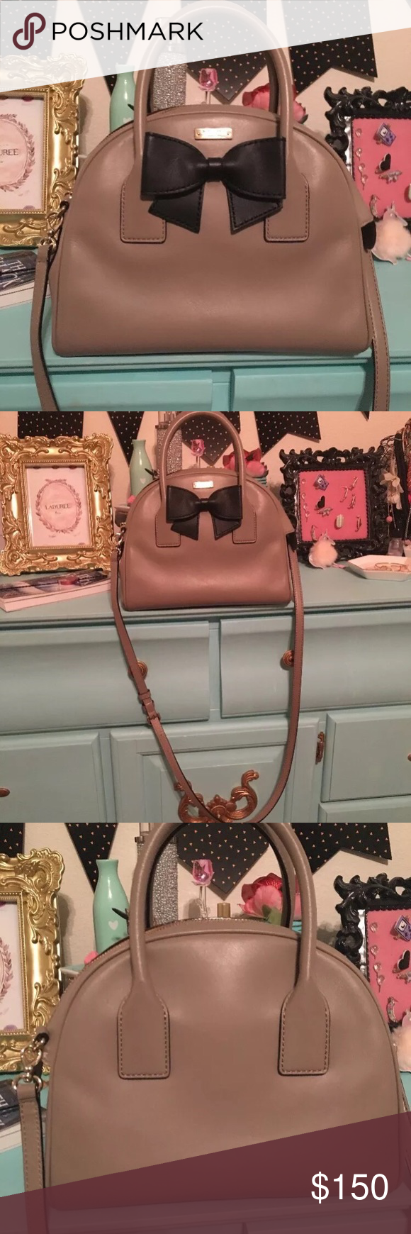 Kate spade bag Beautiful purse. Used once. Excellent condition. kate spade Bags Crossbody Bags