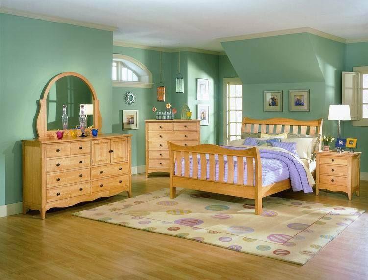 Decorar O Pintar Dormitorios Con Muebles De Madera De Color Claro Mil Ideas Pinturas Para Muebles Decoracion De Dormitorio Para Hombres Muebles