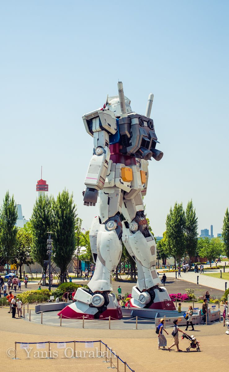 Giant real Gundam Odaiba Tokyo on Behance