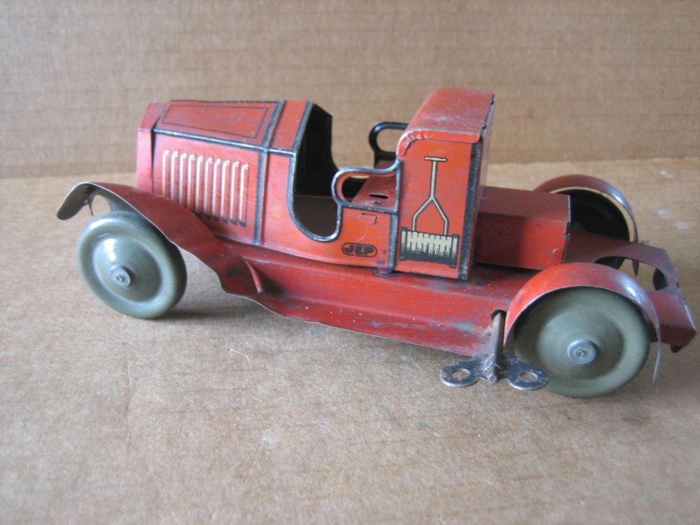 voiture ancienne a clef de marque jep objet d epoque tres ancien jouets d 39 autrefois. Black Bedroom Furniture Sets. Home Design Ideas