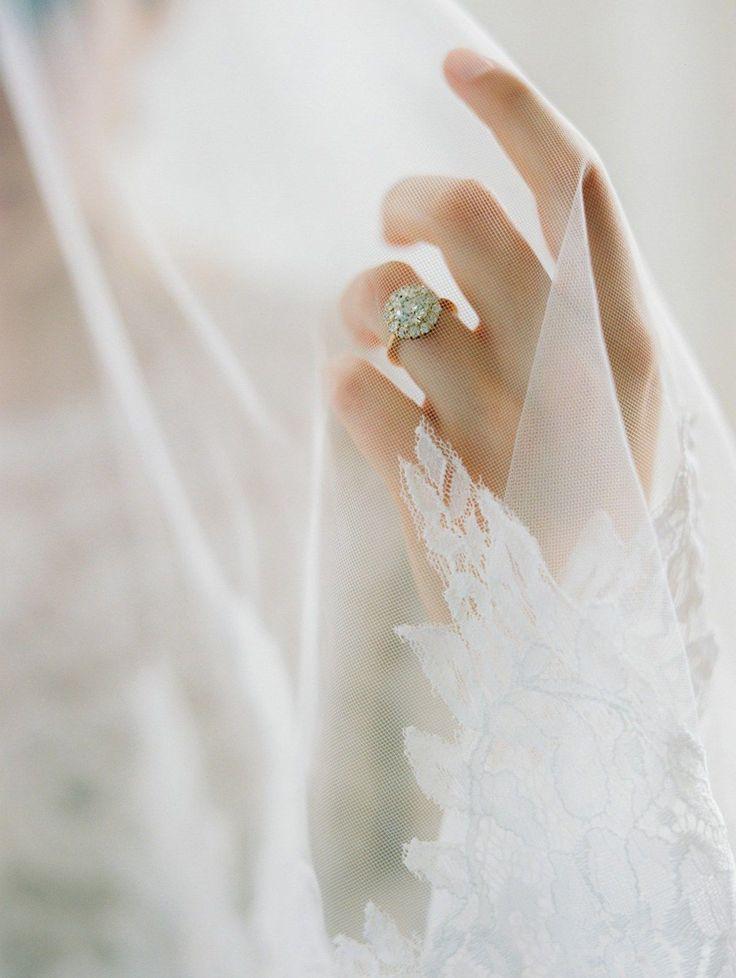 Diamante ring by La Belle - classic, contemporary, fine art and romantic handmad... | lifestylezz