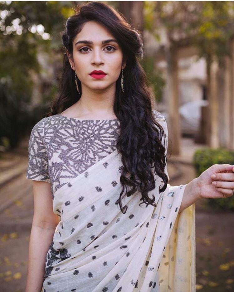 Hairstyle On Saree For Wedding: My Saree Wardrobe : Photo
