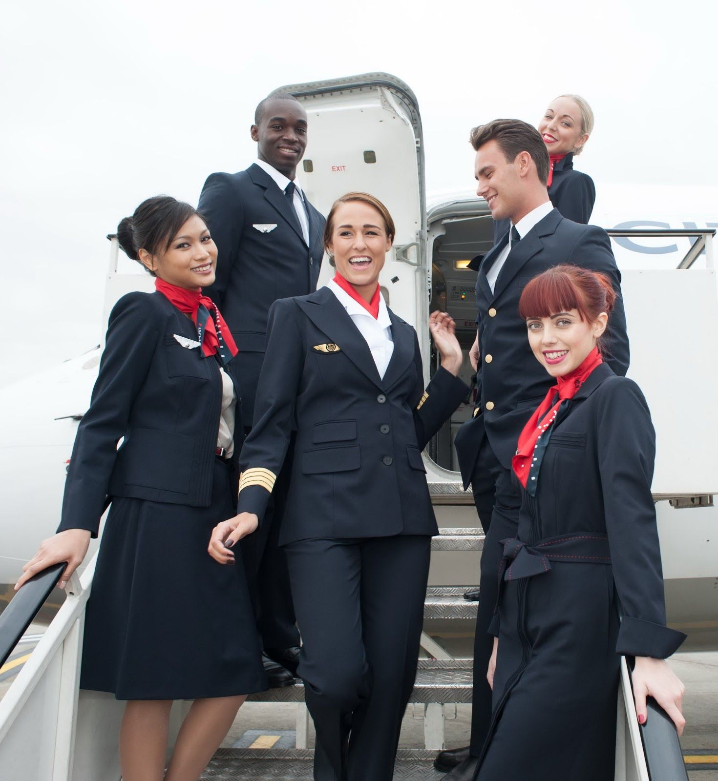 Air Canada Flight Attendants Airlines Pinterest