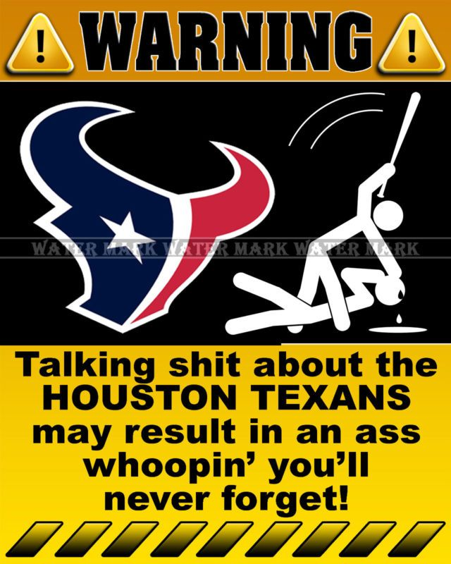 Wall Photo X Funny Warning Sign NFL Houston Texans Football - The internet cant get enough of this texan restaurants hilarious signs