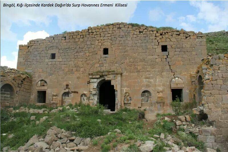 Surp Hovannes Ermeni Kilisesi, Bitlis  Gecmisde Ermeniler ...