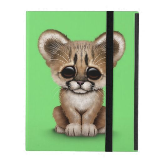 >>>Low Price Guarantee          Cute Baby Cougar Cub on Green iPad Covers           Cute Baby Cougar Cub on Green iPad Covers you will get best price offer lowest prices or diccount couponeDiscount Deals          Cute Baby Cougar Cub on Green iPad Covers Online Secure Check out Quick and Ea...Cleck Hot Deals >>> http://www.zazzle.com/cute_baby_cougar_cub_on_green_ipad_covers-256842307744918865?rf=238627982471231924&zbar=1&tc=terrest