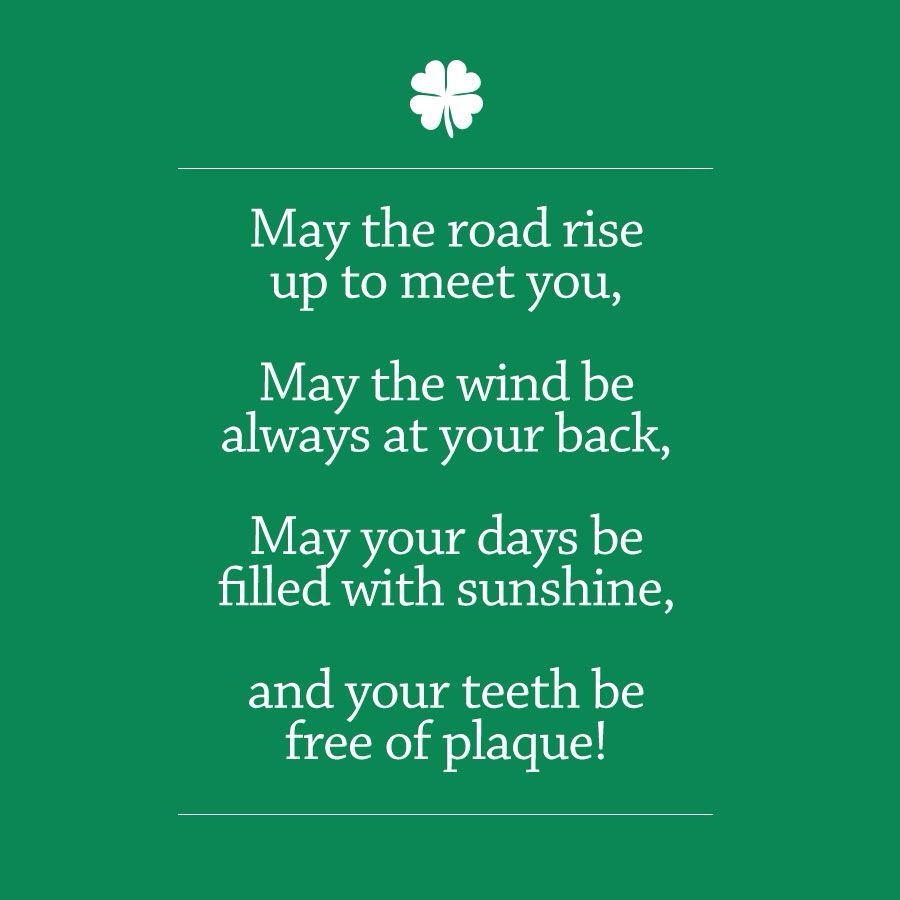 The Irish Dentist's Prayer | Dental quotes, Dental fun ...