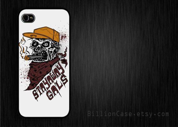 Zombie StayawayGals - iPhone 5 4 4s Case Hard Plastic Case Rubber Case #BillionCase #iPhoneCase #Zombie #stayawaygalas #Cigar