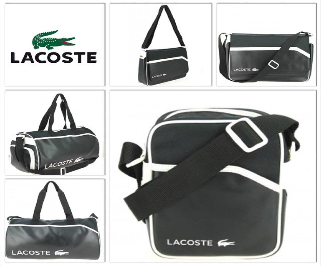 Lacoste Sport HommeCollection Pour VoyageEt Sacoche Sac De eYWE2bH9ID