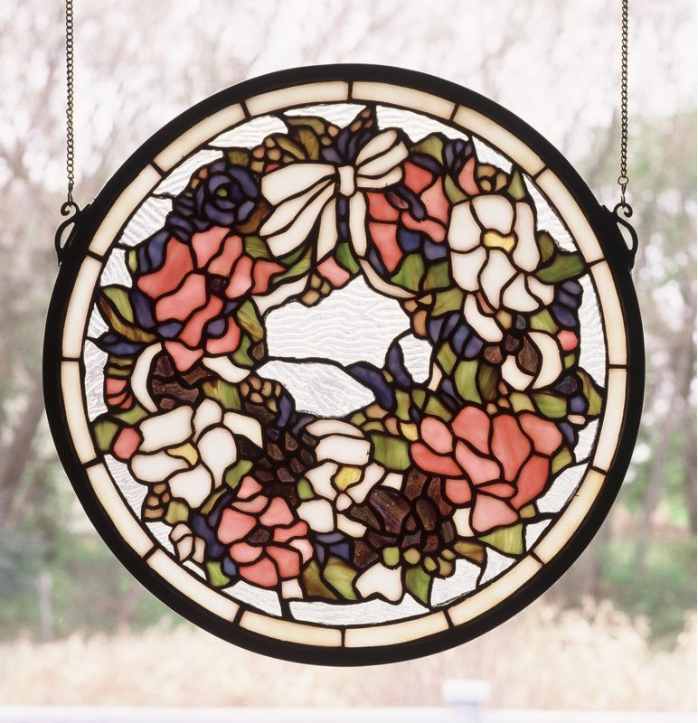 Meyda Tiffany 48324 Stained Gl Window From The Fl Elegance Collec Treatments