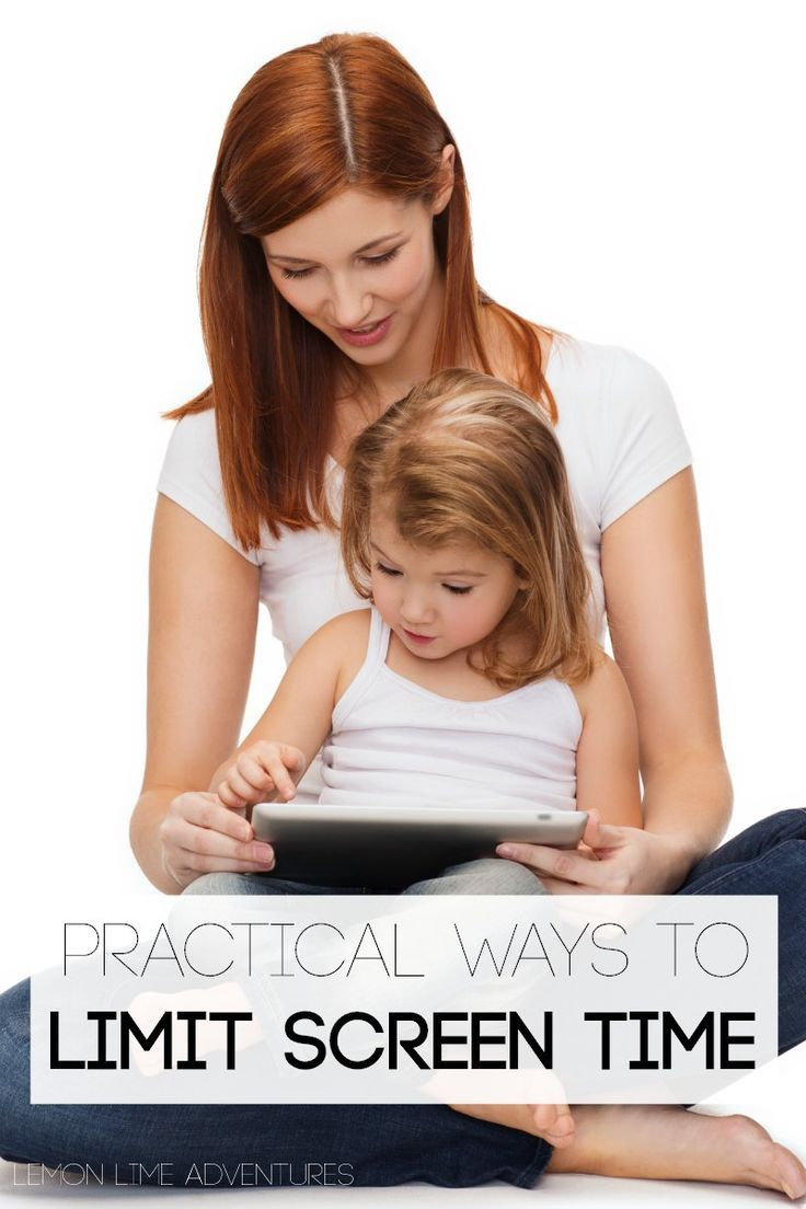 Practical and Down-to-Earth Ways to Limit Screen-Time for Kids