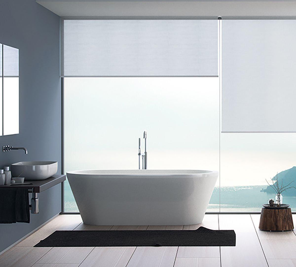 Tende moderne per il bagno nel 2020   Bagno, Tende lunghe ...