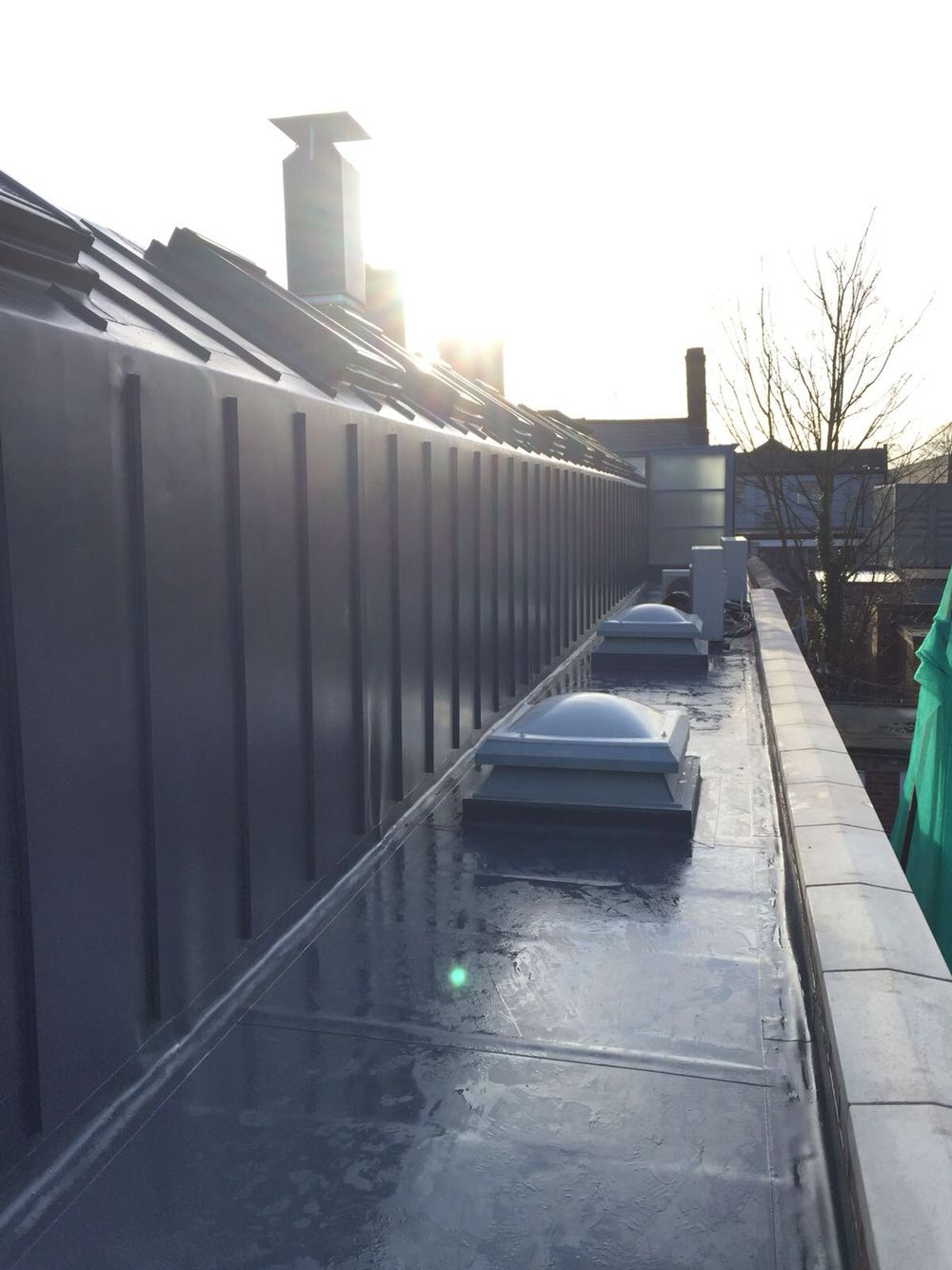 Single ply roofing with batten profile and skylights on Pentecostal church in Leicester  sc 1 st  Pinterest & Pin by SDH Advanced Developments Ltd on Sarnafil Single Ply ... memphite.com