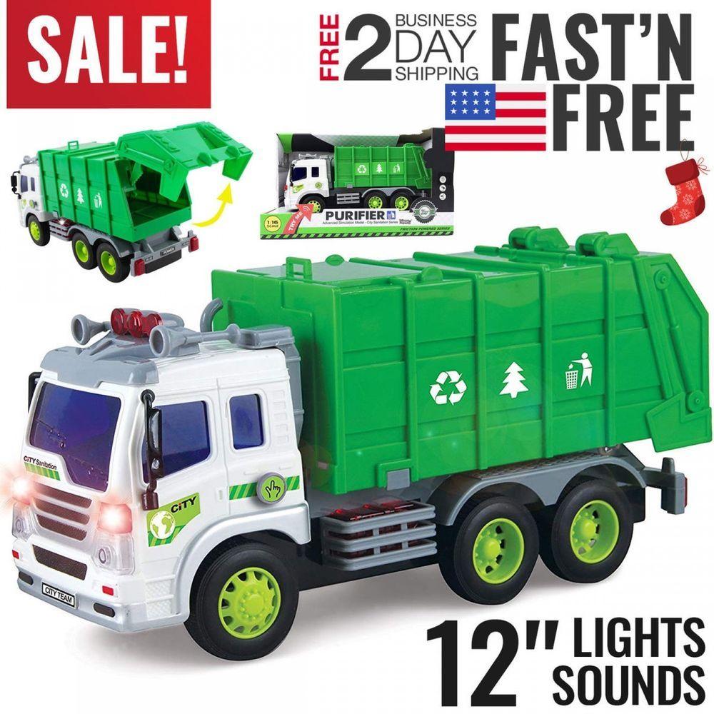 Toys For Boys Kids Children Garbage Truck For 3 4 5 6 7 8 9 10 Years Olds Age Toys For Boys Garbage Truck Kids Boys