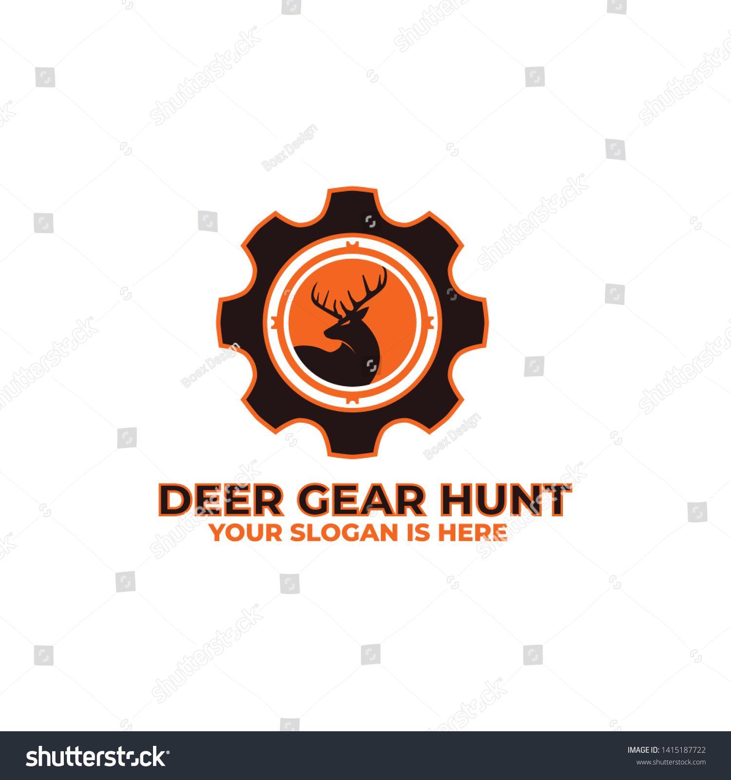 Deer Gear Hunt Target logo Ad , Affiliate, GearDeer