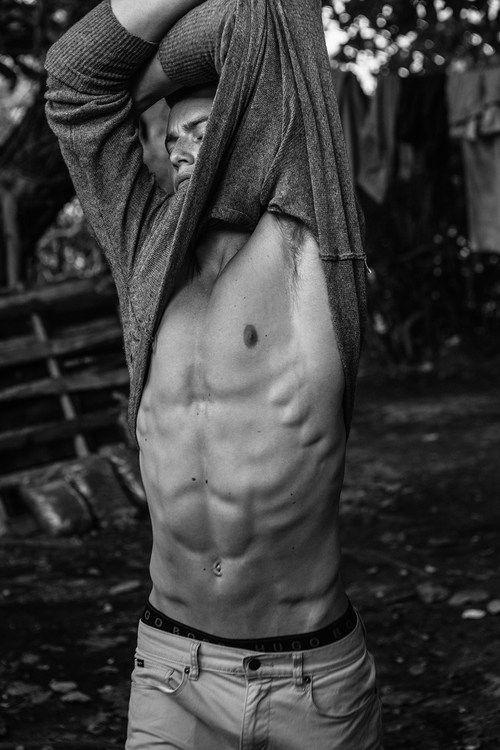 Take it off!  Grey shirt***   Source: homotography…