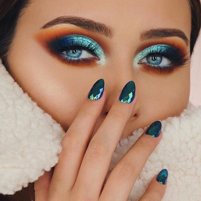 Dieses Bild ist nur ZIELE! Wir sind immer auf der Suche nach neuen Lidschatten-Looks und tu #makeupeyeshadow