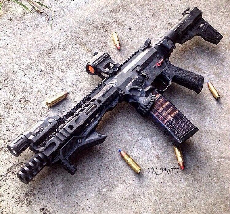 ".458 SOCOM AR with ""The Jack"" Lower"