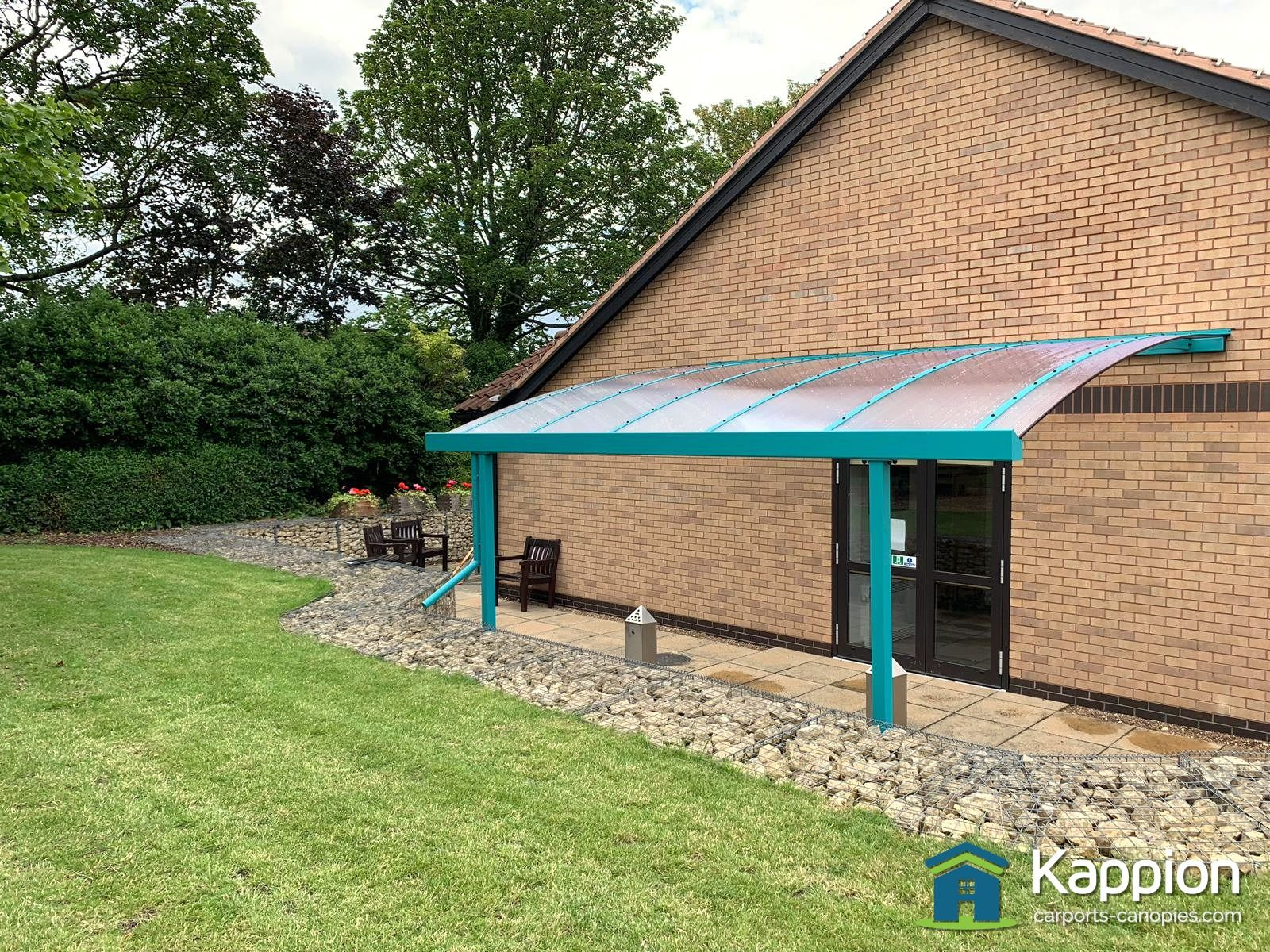 Nhs Garden Patio Canopy Installed In Doncaster With Images Patio Canopy Patio Garden Patio