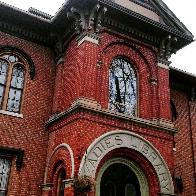 The Ladies Library built in 1858. YPSILANTI, MICHIGAN ...