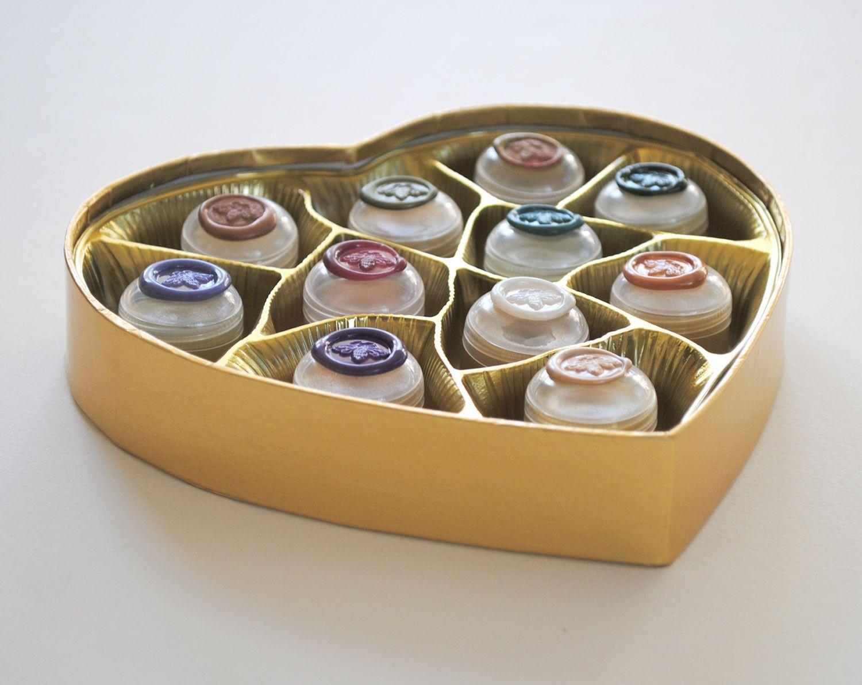 "Natural Solid Perfume ""Coeur de Parfum"" Luxury Box Set of Eleven"