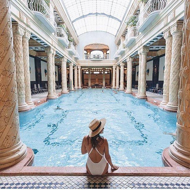 Banos Gellert.Budapest Hungary Gellert Baths Travel Pinterest