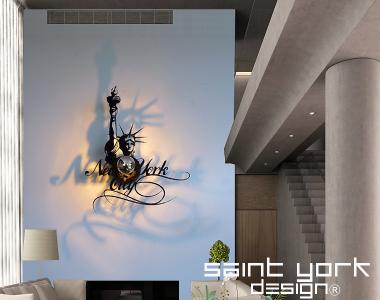 applique luminaire New York liberty ( New York statue de la liberté ...