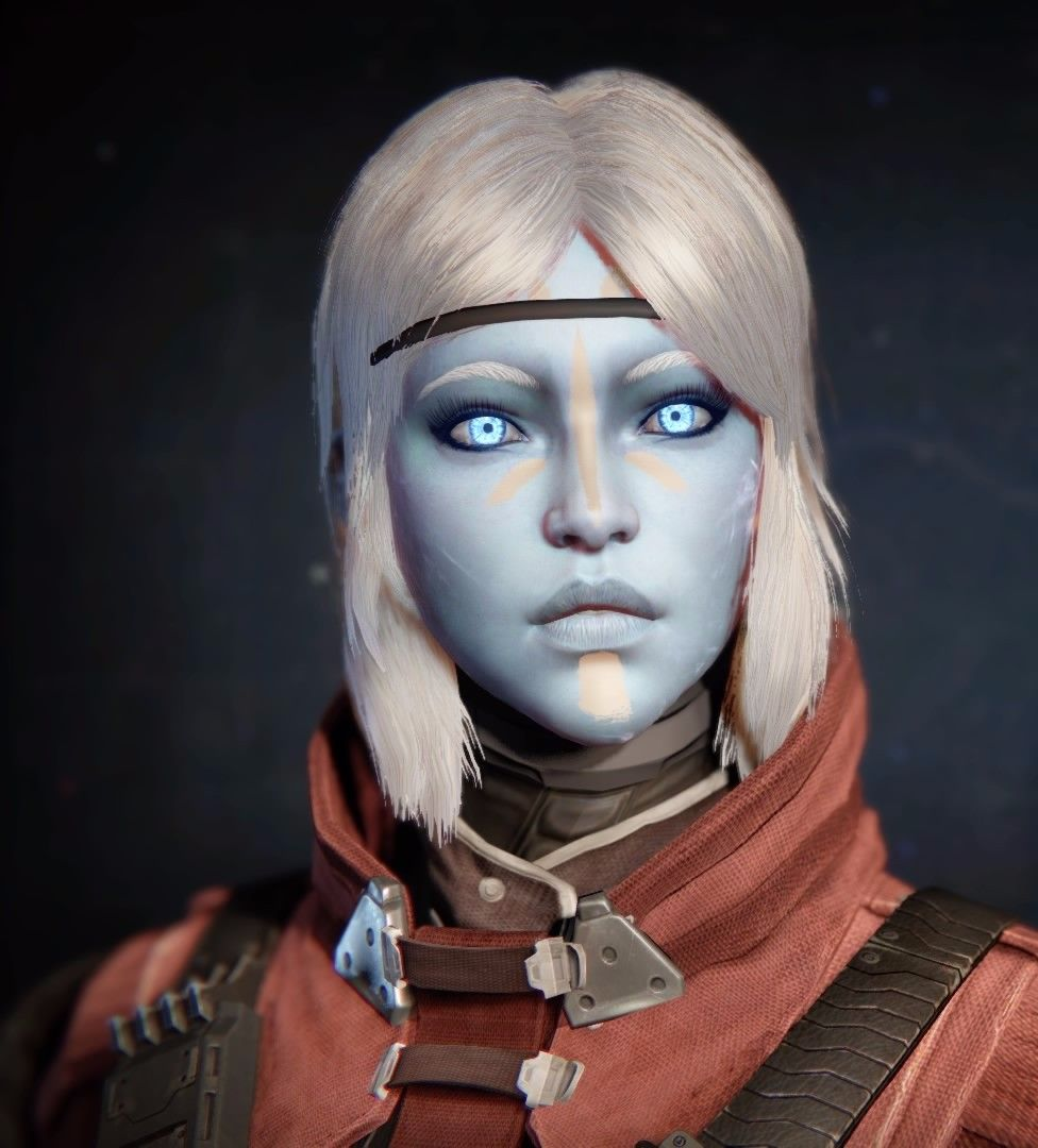 Destiny: Default fem Awoken face | Digital comic, Destiny ...