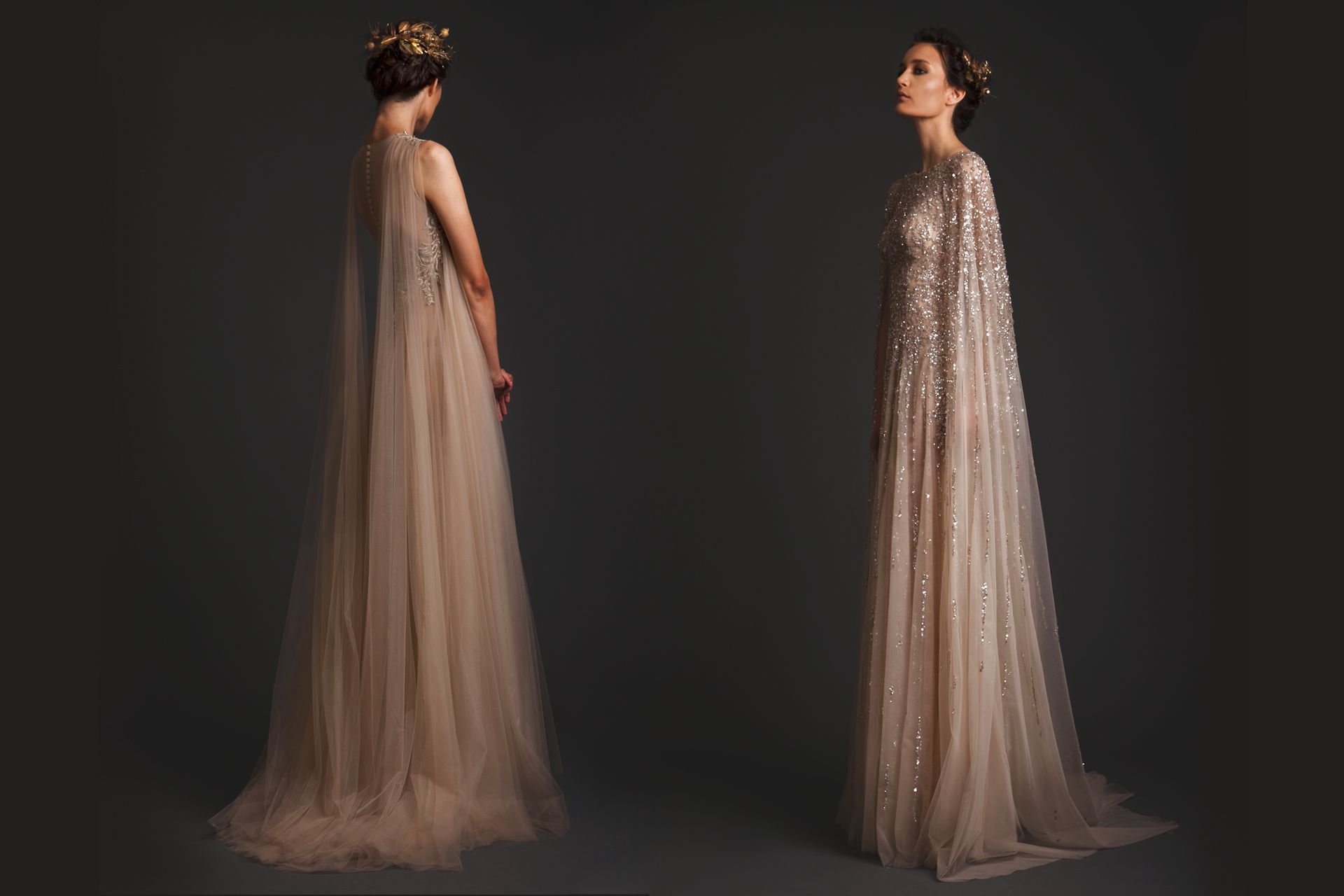 Beautifully Crafted Gowns - Krikor Jabotian Ethereal, Fantasy And Drama