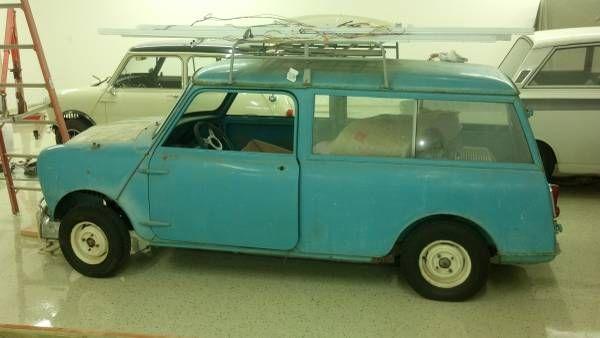 1962 Morris Mini Traveller 850 Wagon - $6,500 Sacramento ...