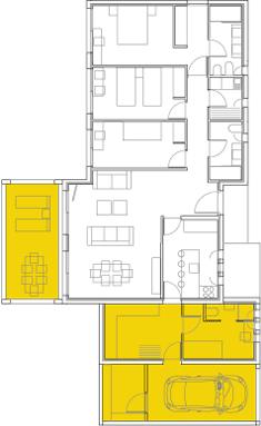 Plano Módulos Vivienda Family A Casas Modulares Casas