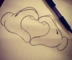 mickey heart:)