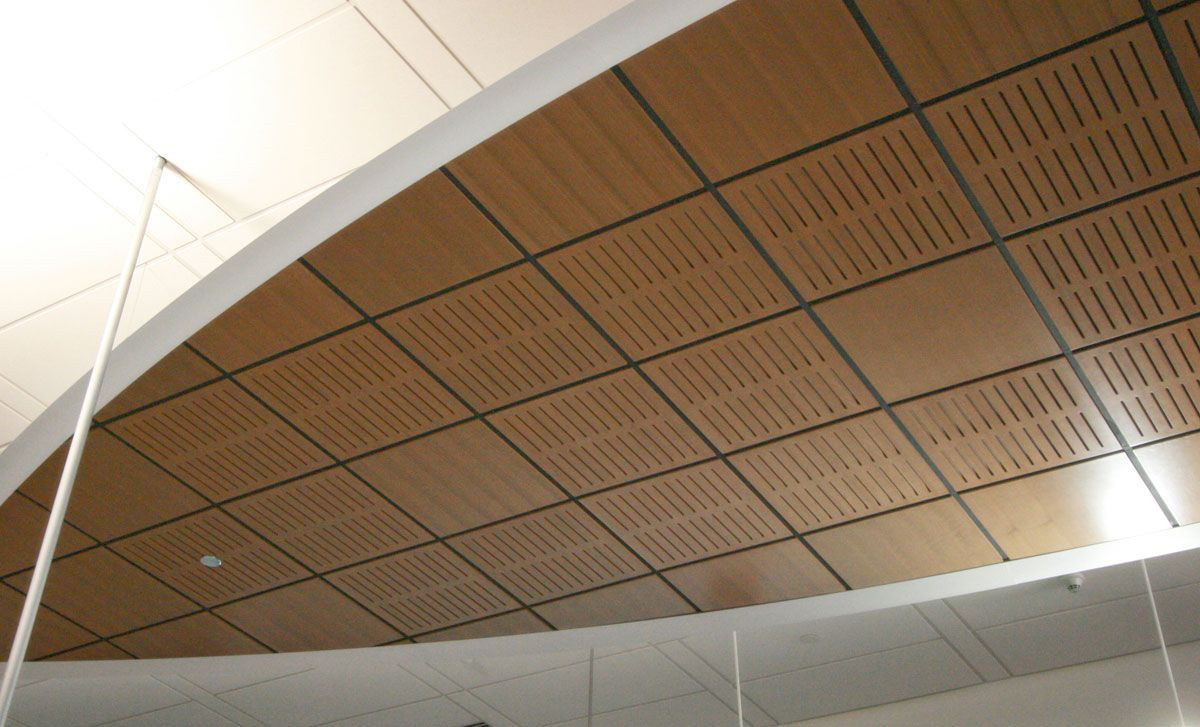 Alluratone By Rulon Products Slotted Acoustical Wood Veneered