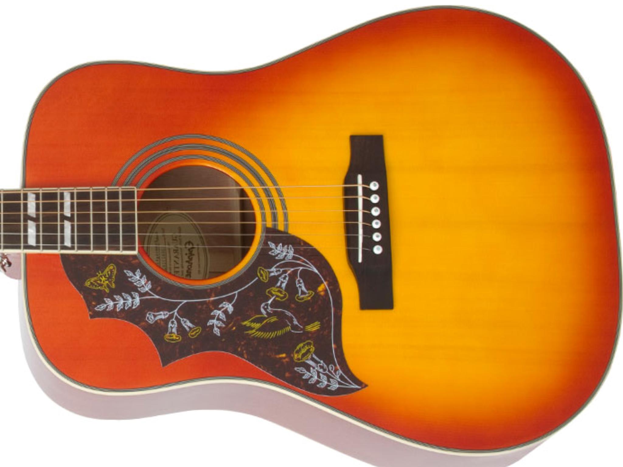 Epiphone Hummingbird Left Handed Guitar Left Handed Lefty Guitars
