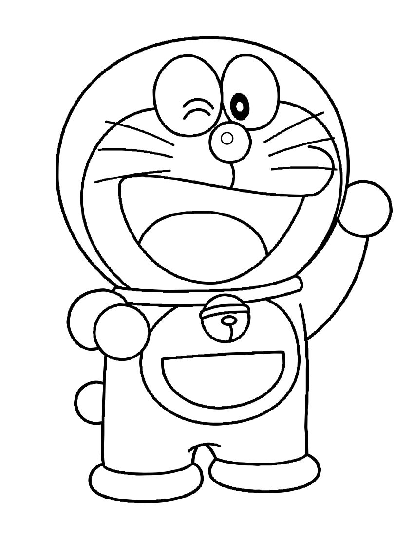Doraemon Coloring Pages Pdf Download Coloring Pages Allow Kids To Accompany Their Favorite Characters O Coloring Book Download Coloring Pages Coloring Books