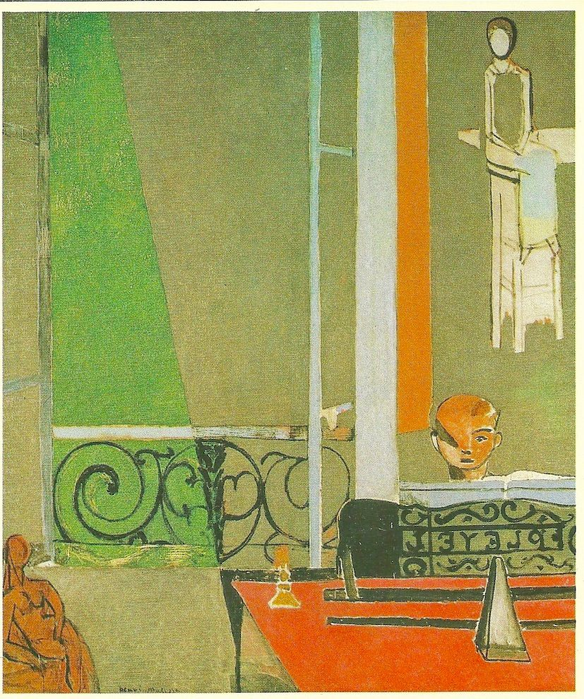 Henry Matisse-1916-La lecon de piano-Collect.Museum of Modern Art, Paris