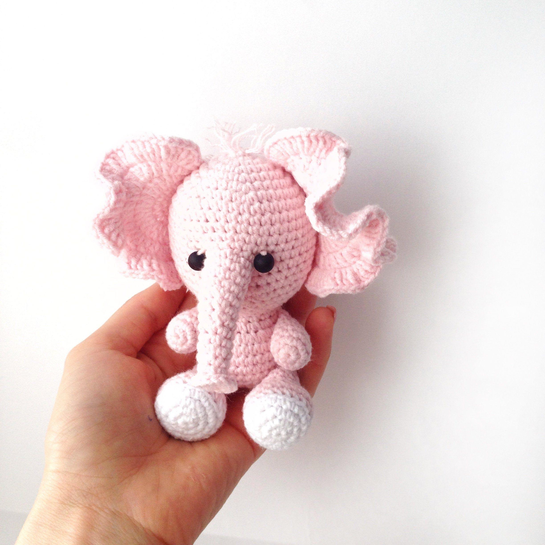 Pink crochet elephant pattern | Crochet elephant pattern, Crochet ... | 2448x2448