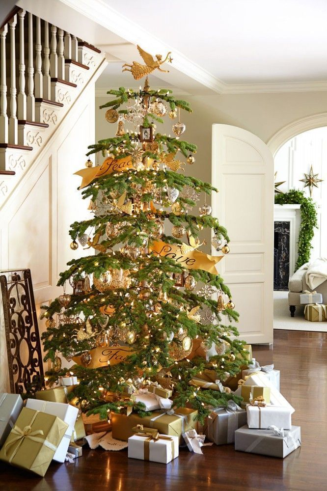 Some Beautiful Christmas Tree Decoration Ideas to WOW Your Neighbor
