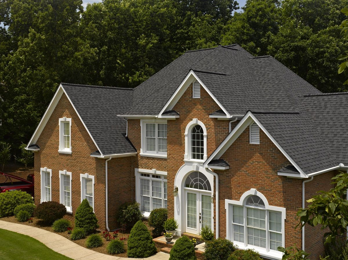 Best Certainteed Landmark Designer Shingle In Moire Black 400 x 300