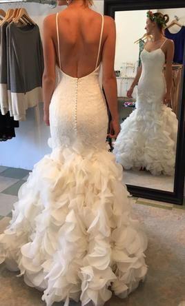 Justin Alexander 6252 Wedding Dress Used Size 0 750 Wedding Dresses Used Wedding Dresses Dresses