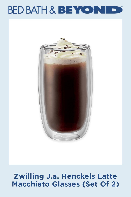 Zwilling J.a. Henckels Latte Macchiato Glasses (Set Of 2)