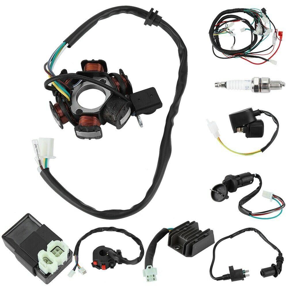 Ebay Advertisement  Electric Wiring Harness Kit Magneto