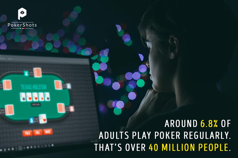 Online Poker taking over the World! poker pokershots