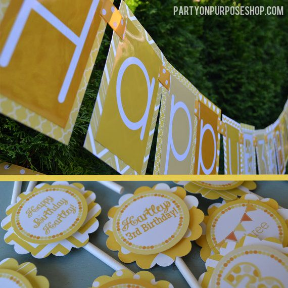 Best 25 Yellow Birthday Parties Ideas On Pinterest
