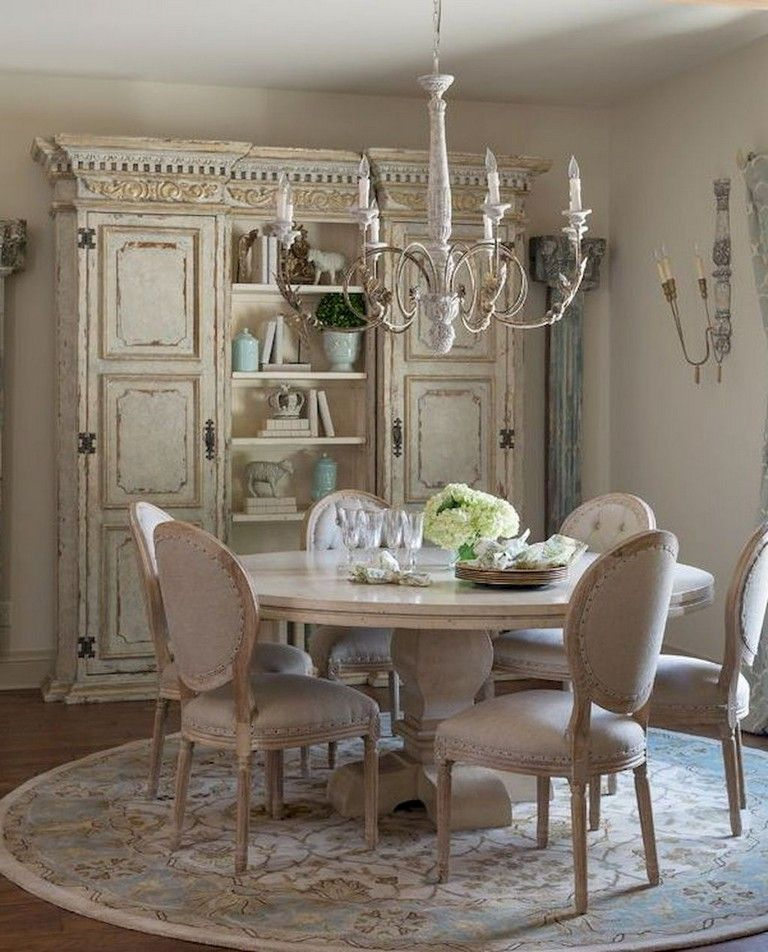 70 Amazing French Country Dining Room Decor Ideas Diningroom