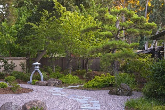 Japanese Style Garden [asian Landscape By Kikuchi U0026 Associates]