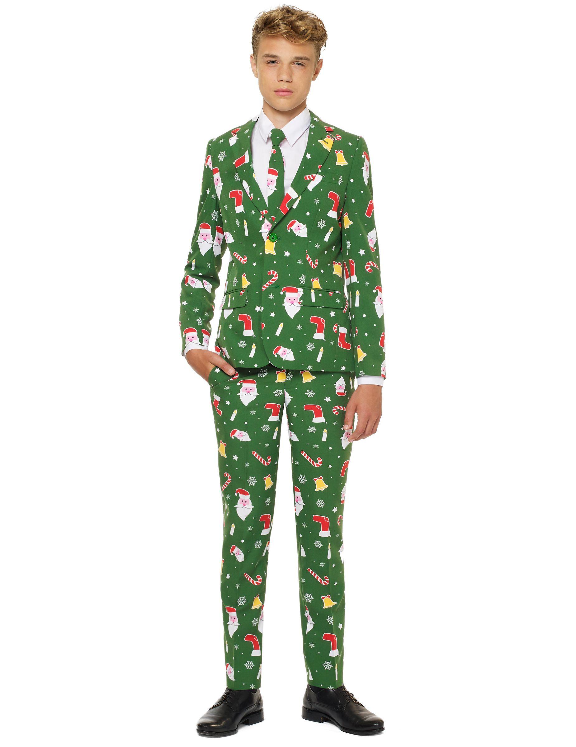 Traje Mr. Santaboss adolescente de Opposuits™ Navidad  Este disfraz Mr.  Santaboss para afa14085fc6