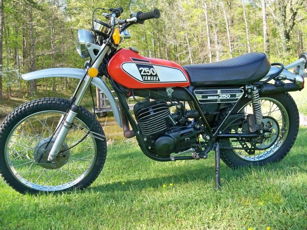 1975 Yamaha Enduro DT250